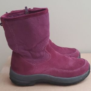 L.L.Bean Thinsulate Lined Suede winter boots shoes